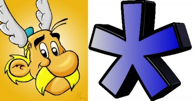 Asterix or asterisk image