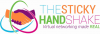 The Sticky Handshake Logo