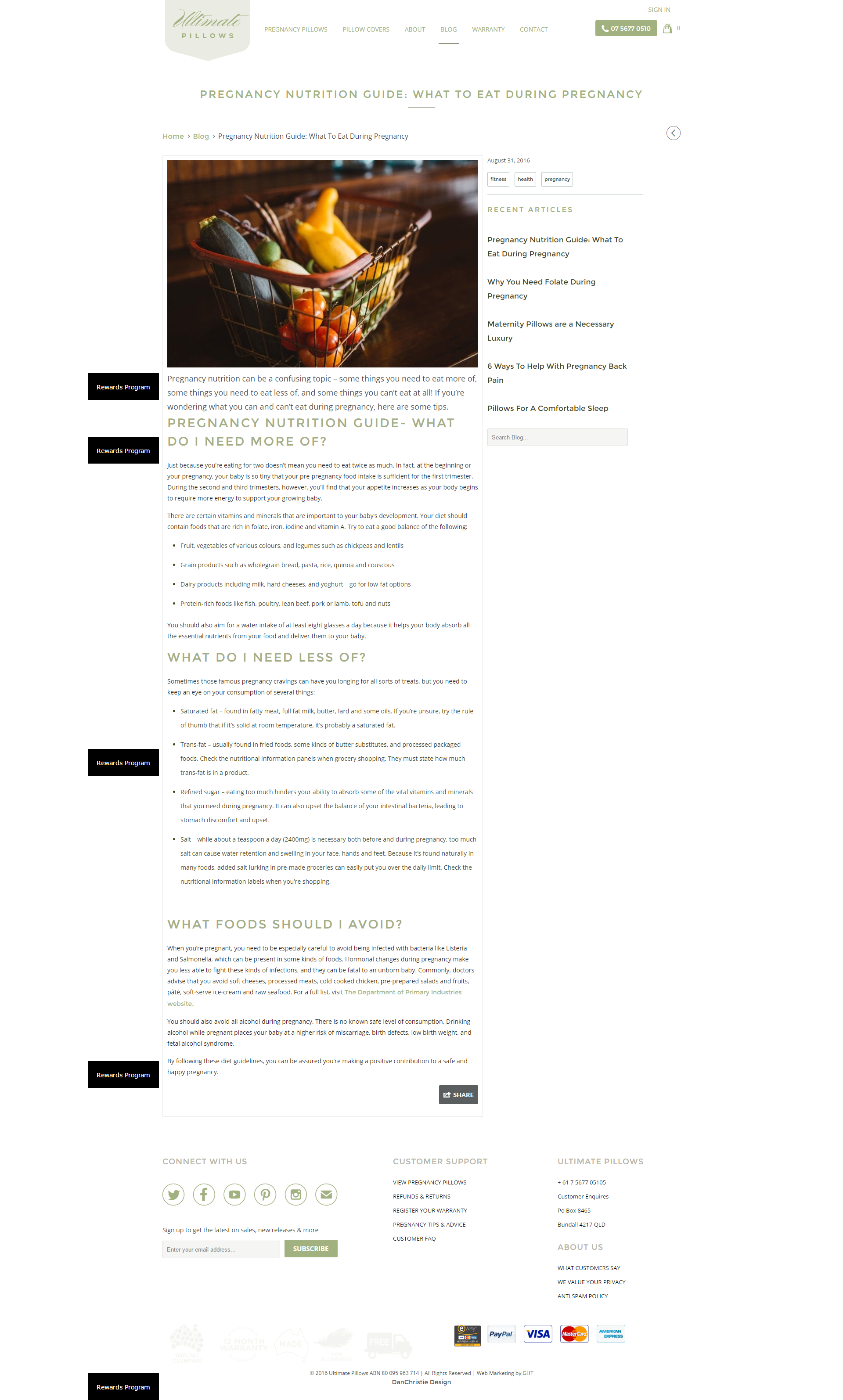 Unmistakable Pregnancy Blog