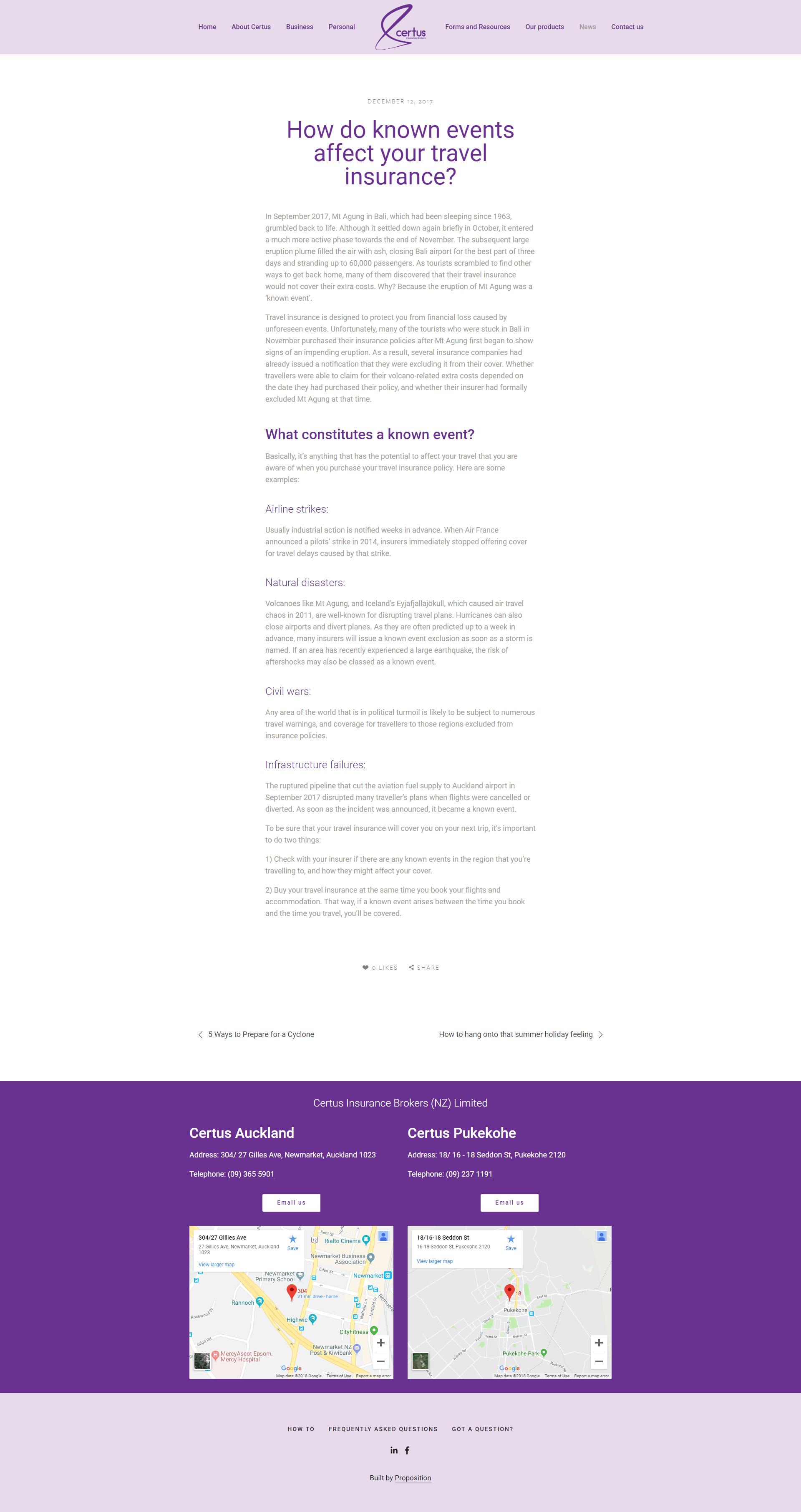 Unmistakable Certus Blog
