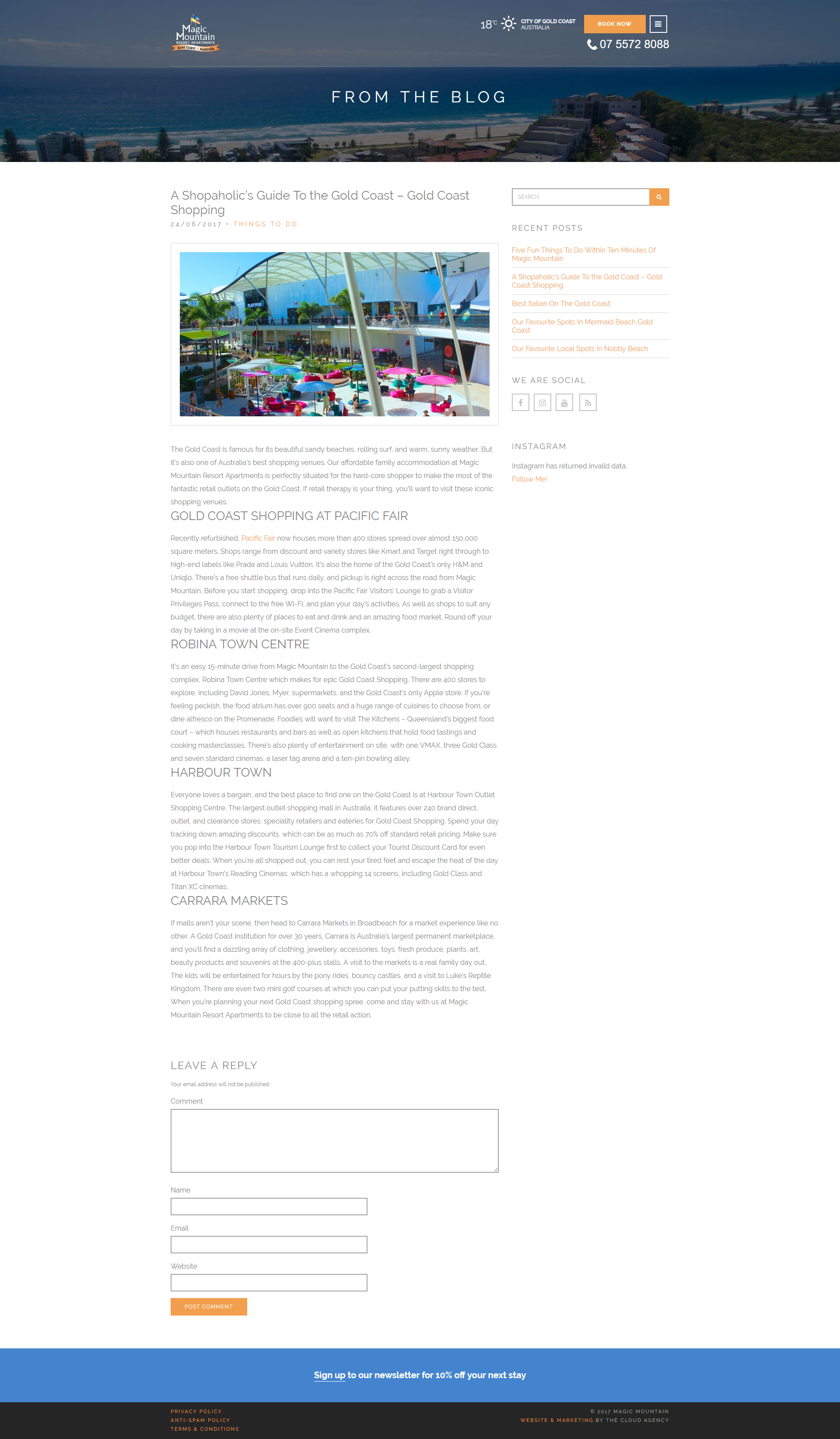 Unmistakable Magic Mountain Blog